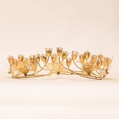 Gorgeous Copper/Plating/Gold-plating technology Tiaras
