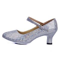 Donna Similpelle Glitter scintillanti Tacchi Stiletto Moderno Scarpe da ballo