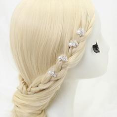 Beautiful Alloy/Imitation Pearls/Beads Hairpins