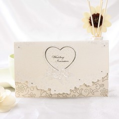 Serce Style Tri-Fold Invitation Cards