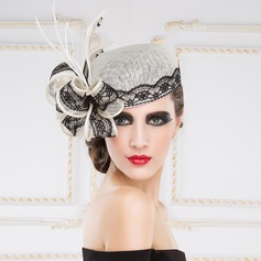Gorgeous Lace/Cambric Hats