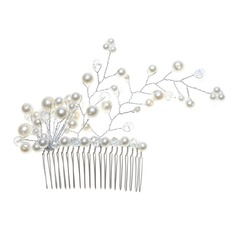 Gorgeous Alloy/Pearl Hair Combs