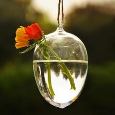 Gota de agua Formado Vidrio Florero