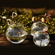 Creative Round Connected Glass Vase