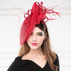 Luxurious Feather/Cambric Hats