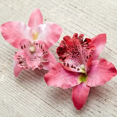 Beautiful/Elegant Silk Flower Flowers & Feathers (Sold in single piece)