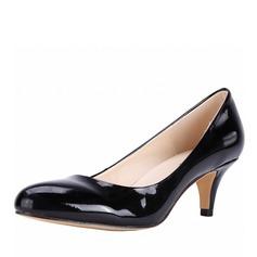 Femmes Cuir verni Talon bottier Escarpins chaussures