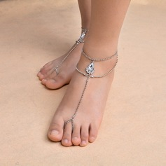 Rhinestone Foot Jewellery