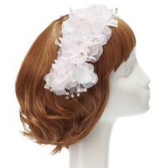 Beautiful Rhinestone/Pearl/Chiffon Flowers & Feathers