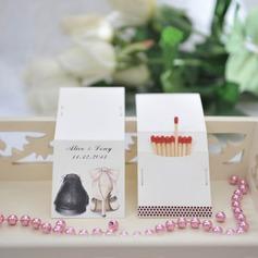 Personalizzato Scarpe Design Hard Card carta Scatola personalizzata di fiammiferi (Set di 50)