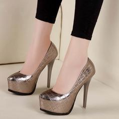 Femmes Similicuir Talon stiletto Escarpins Plateforme avec Autres chaussures