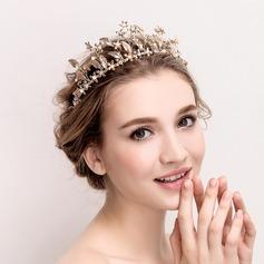 Ladies Beautiful Rhinestone/Alloy/Imitation Pearls Tiaras