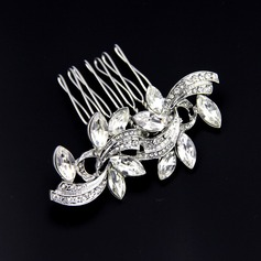 Glamourous Crystal/Alloy/Austrian Crystal Combs & Barrettes